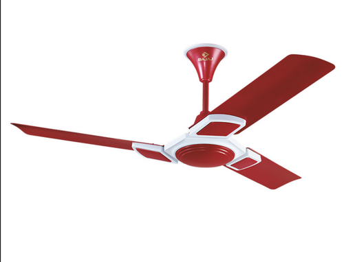 Hextrim 1200 Mm Cherry Red Ceiling Fan