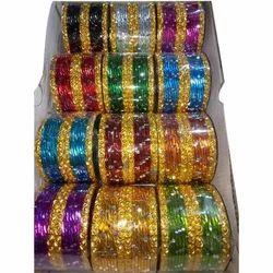 Aluminium Party Wear Jalpari Metal Bangle
