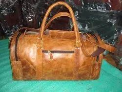 Genuine Leather Duffle Bag