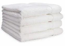 Plain White Cozy Towel, For Ot Towels, Size: 60x80 Cm