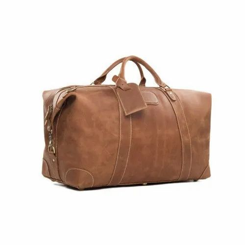 ac283e81ccb Brown Leather Travelling Bags, Rs 200 /piece, Jomco Trade Ventures ...
