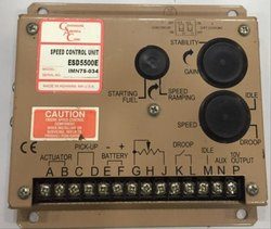 Governor America Corp (GAC) Speed Control Unit, P/N ESD5500E, For Generator