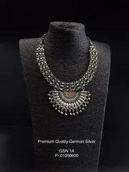 Ethnic Arcform Stone Necklace