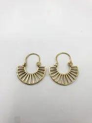 Brass Golden Earring