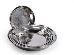 Mangal Shanti Stainless Steel Parat for Home