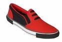Venus Red Canvas Shoes