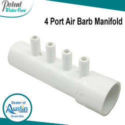 4 Port Air Barb Manifold