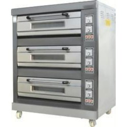 Electric 3 Deck 6 Trays Baking Oven