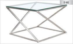 Mayuri International Stainless Steel Side Table - 002