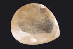 Heart Brown Rutile Quartz, Carat: 22.15 Carat