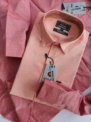 Collar Neck Casual Wear Mens Chambray Shirt