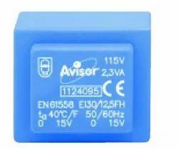 Dry Type 50-60 Hz Single Phase Encapsulated Transformers, Input Voltage: 115 And 230v, 0.35va To 30 Va