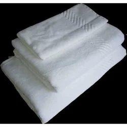 Cotton Plain White Hospital Turkish Terry Towel