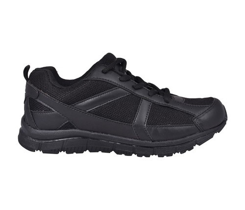 Nike Black,White School Shoes, Size: 6
