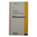 Cipla Ritomune Tablets, Packaging Type: Packet, 100 Mg
