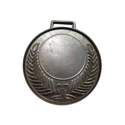 5 Mm Silver Plated Medal