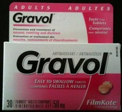 Dimenhydrinate Gravol Tablet
