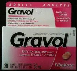 Dimenhydrinate Gravol Tablet
