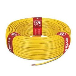 2.5 Sq.mm Color: Yellow Havells House Wire