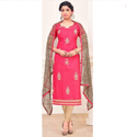 Cotton Work With Print Casual Wear Salwar Kameez-sparxz65