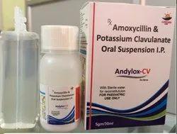 Amoxicillin And Pottassium Clavulanate Oral Susp