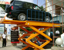 Hydro 4 Post Car Parking Scissor Lift