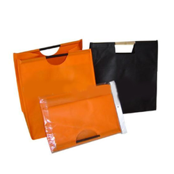 Colorful Wooden Shopping Bag
