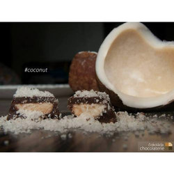 Homemade Coconut Chocolate