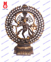 Natraj Tripple Ring & Om Design Statue