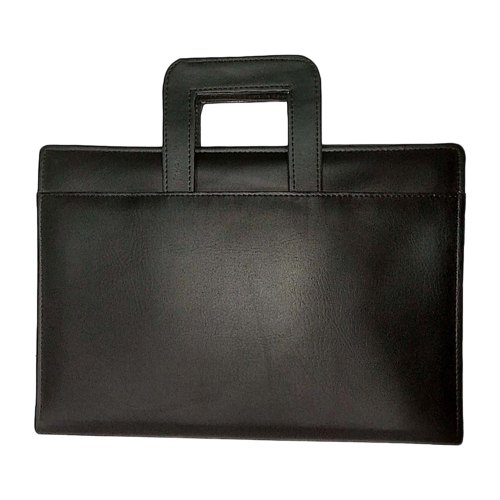 e6d25e974d1 Black Leather File Folder (Portfolio File)