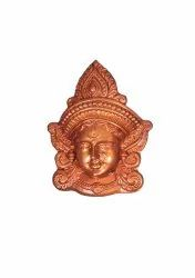 Devi Durga Face Wall Hanging- Small