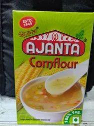 Vegetarian Ajanta Corn Flour, 100 Grams, Packaging Type: Box