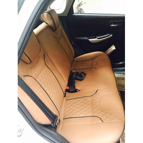 Leather Light Brown Car Back Seat Cover Rs 1800 Piece Manmmohan
