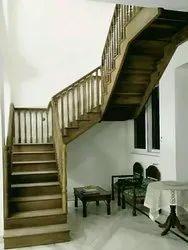 Sheshm Wooden Stairs