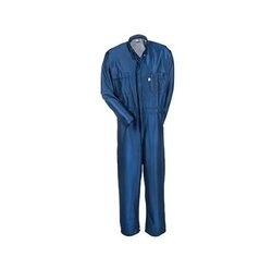 Anti Static Blue Protective Coveralls