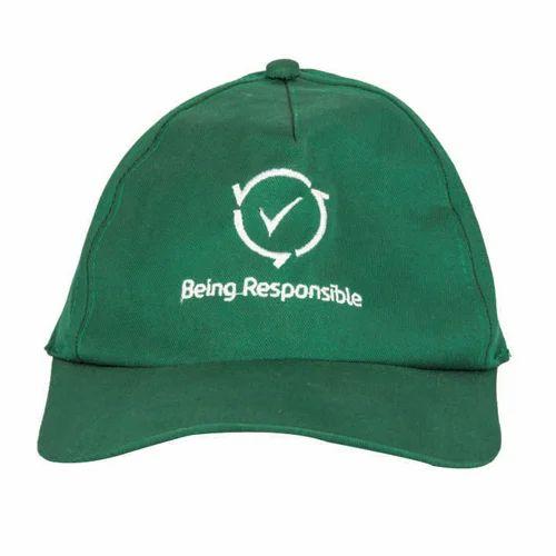Plain Mens Green Cap 95f2a0f2ec0