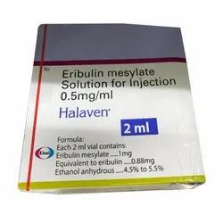 Eribulin Mesylate Solution for Injection