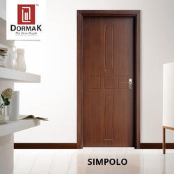 Simpolo Decorative Wooden Membrane Designer Flush Door for Home