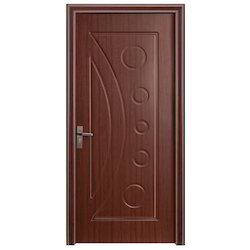 Brown Paint Coated Fancy Panel Door, Rectangle, Thickness: 10 To 20 Mm