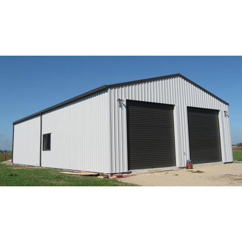 Mild Steel Prefabricated Warehouse Construction Service