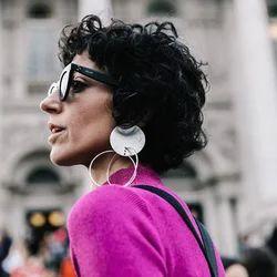 New Geometric Wooden Long Stud Earrings for Women