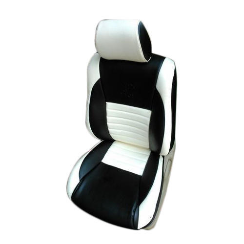 Swell White And Black Car Seat Covers Alphanode Cool Chair Designs And Ideas Alphanodeonline