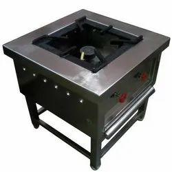 Stainless Steel Single Burner Gas Stove