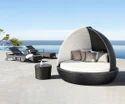 Poolside Wicker Bed