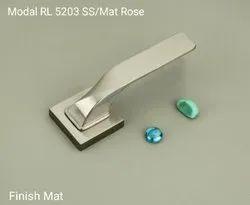 Rlines Zink 5203 rose mortic handle set, For Home