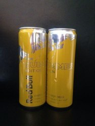 A Grade Red Bull Yellow Edition Tropical Fruit