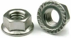 Flange Nuts With Serrations