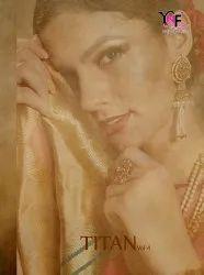 Titan Vol.4 Banarasi Art Silk Saree