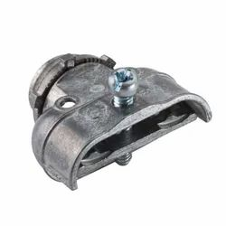 Silver Stainless Steel Duplex Connector for Structure Pipe, Size: 1 inch