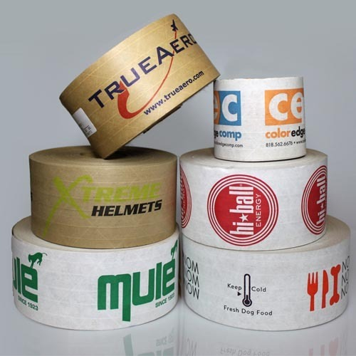 White Printed Gum Tapes
